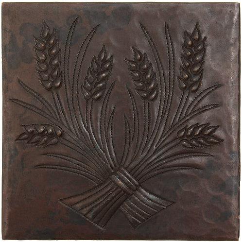 Copper Tile (TL851) Wheat Design