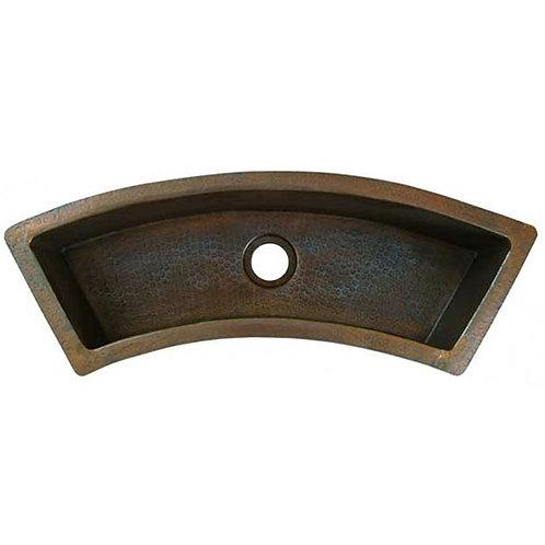Trough Sink Rectangle Curve Copper Trough Style Sinks (TRC)