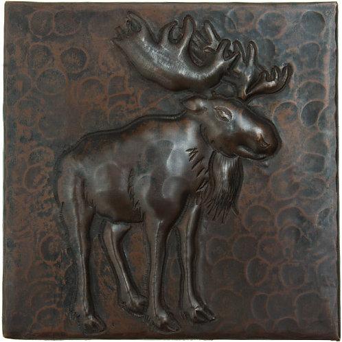 Copper Tile (TL995) Moose Design