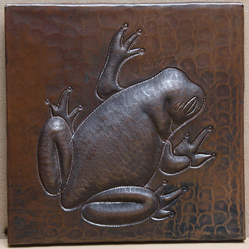 Copper Tile (TL408) Tree Frog Design
