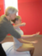 Rolfing movement integration, fre shoulder joint