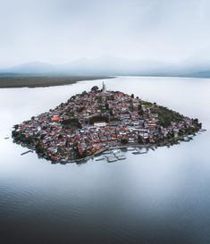 Isla de Janitzio, Michoacán.