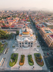 Bellas Artes, Mexico City.