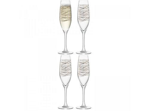 GARDEN BARN Cocoon Champagne Flute