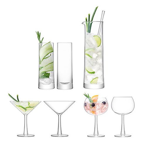 GARDEN BARN Gin Cocktail Set Clear