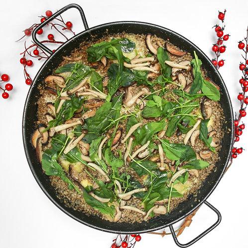 Truffle-Infused Mushroom Paella (5pax)
