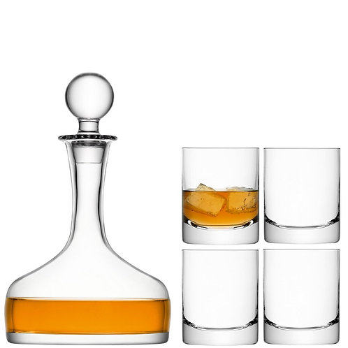 GARDEN BARN Bar Whisky Set Clear