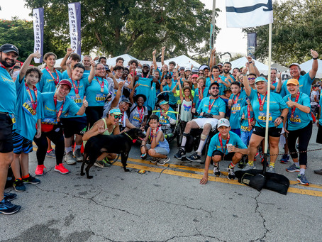 ThumbsUp delivered at the UPS5K in Coral Gables