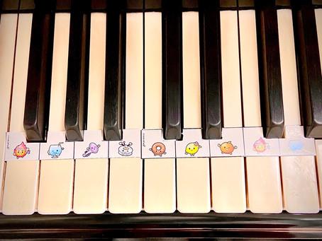 どれみフレンズの鍵盤