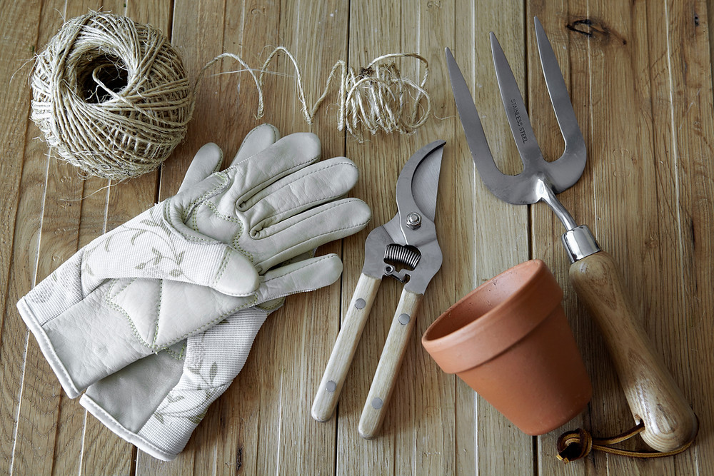 Storing your garden tools