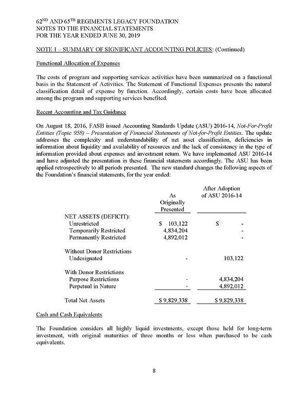 AUDIT - 62 & 65 LF Report 2019 Final_Pag