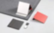 ziistle ist in 3 farben erhältlich: grau, dunkelgrau und rot.