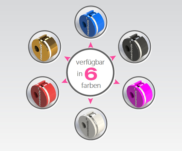 verfügbar in 6 farben