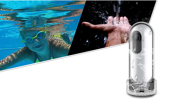 nautilus verwandelt deine caply kamera in eine komplett wasserdichte unterwasserkamera. es ist bis zu 100 meter wasserdicht und sinkt langsam, falls du es unter wasser loslässt.