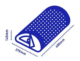 abmessungen: 480 mm x 270 mm x 145 mm; gewicht: 1,5 kgbatterie: lithiumpolymer 3,7 v, 5,5 wh; bis zu 8 stundenbluetooth: 4.2, a2dp audioprotokoll; bis zu 10m abstandaux: 3,5 mm buchse für stereo line inbetrieb bei umgebungstemperatur: 0 ° c bis 35 ° c, nicht kondensierendzertifikate: ccc, ce und fcc