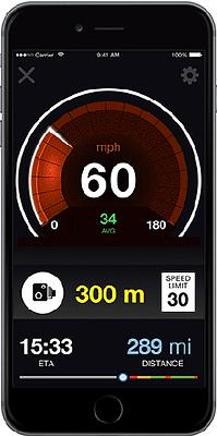 beachte deine geschwindigkeit erhalte genaue beschränkungen und radarkontrollen