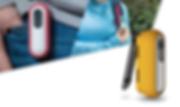 der wirklich einfache klipp, der caply portabel und tragbar macht. bringe caply einfach an deiner kleidung oder tasche an und er ist der beste reisebegleiter.