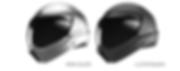 die farben des crosshelmet: iron silver, luster black