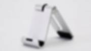 der ridge stand mini: 97x34x41mm, nettogewicht 70g für iphone und andere smartphones