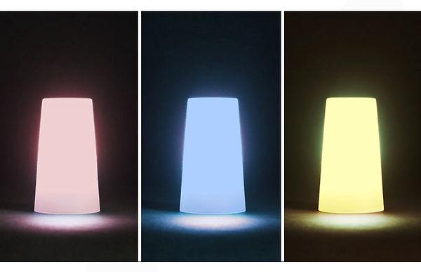 helio enthält auch einen lichtdiffusor in drei verschiedenen farben. ebenso kannst du den diffusor als tasse verwenden – eine weitere nützliche funktion für dein outdoorabenteuer.