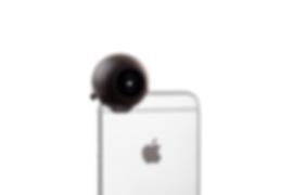 fishball ist ein aufsatz für deine smartphonekamera, der es dir ermöglicht 360° fotos zu schießen. dabei benötigt das gadget keine zusätzlichen kabel, akkus oder speicherkarten, denn der fishball nutzt nur die optik. mit der dazugehörigen app kannst du dann kinderleicht ein foto oder video mit rundumsicht aufnehmen und auf facebook, twitter oder andere social media seiten teilen. fishball wurde für das iphone entwickelt und ist mit allen neueren geräten kompatibel.