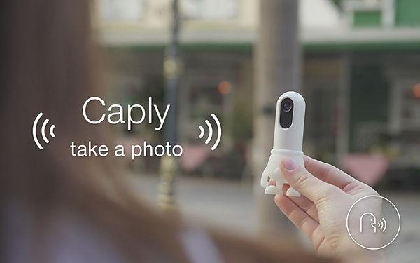 sprachsteuerung mit caply reden ist ein einfacherer, schnellerer weg dinge einzufangen. es ist immer bei dir und bereit, dir durch den tag zu helfen.