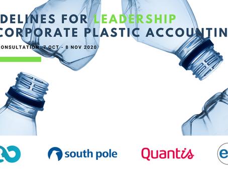 Consultation on Key Plastic Stewardship Guidelines