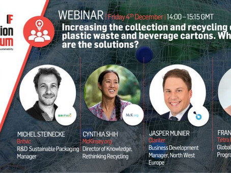 3RI & UK Innovation Forum webinar: Increasing the collection and recycling of plastic waste
