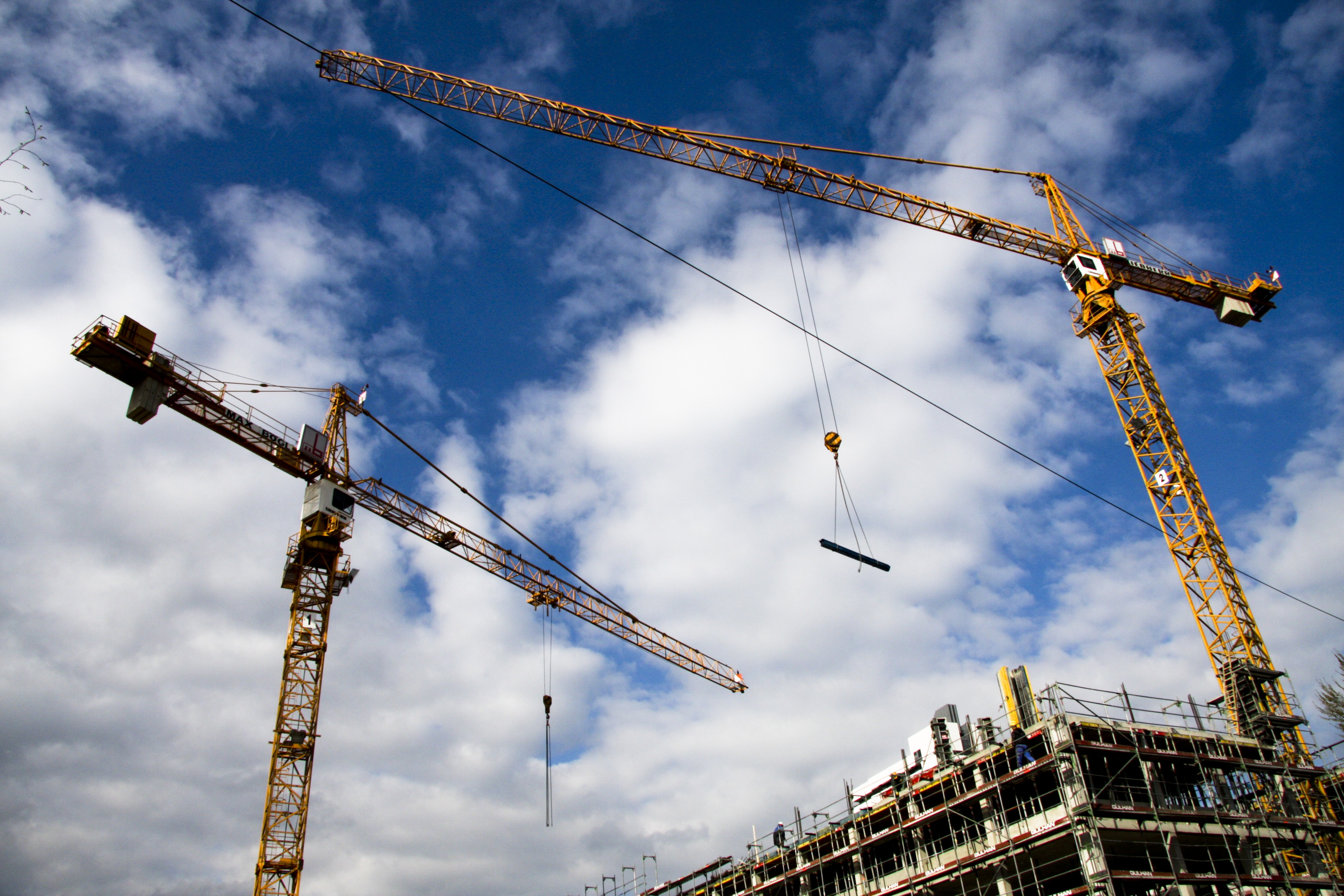 Na construção civil
