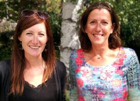 Laetitia Martin et Sylvie Chatelus
