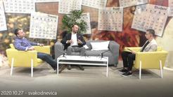 27.10.2020. Dr. Kust gostovao na Jabuka TV u emisiji Svakodnevica