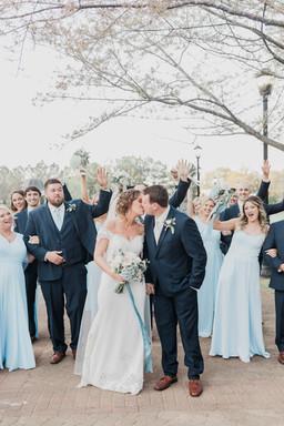 rebekah and lucas bridal party