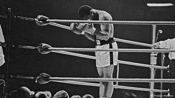 HE WHO IS NOT COURAGEOUS ENOUGH TO TAKE RISKS WILL ACCOMPLISH NOTHING IN LIFE. #RIPCHAMP