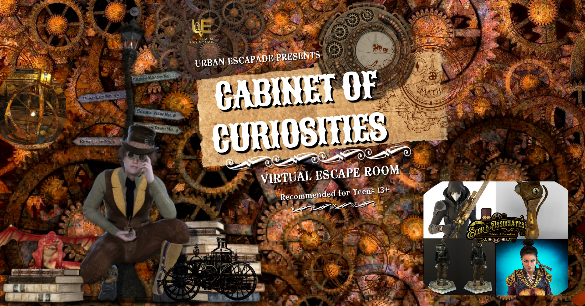 Cabinet of Curiosities Escape Room