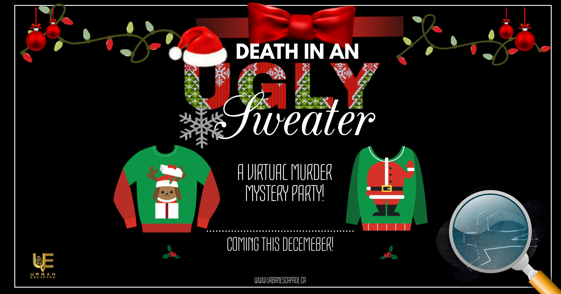 UGLY SWEATER MURDER MYSTERY