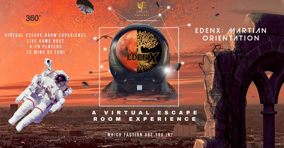 EDENX: Martian Orientation
