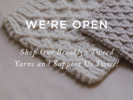 We are open! You can shop online or come by for curbside pickup.