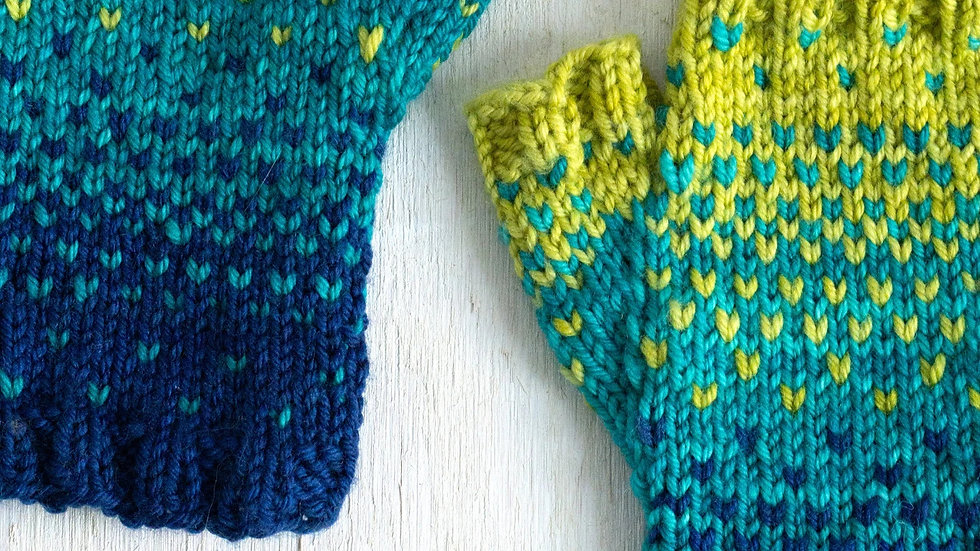 Drops of Spring Mitts Kit