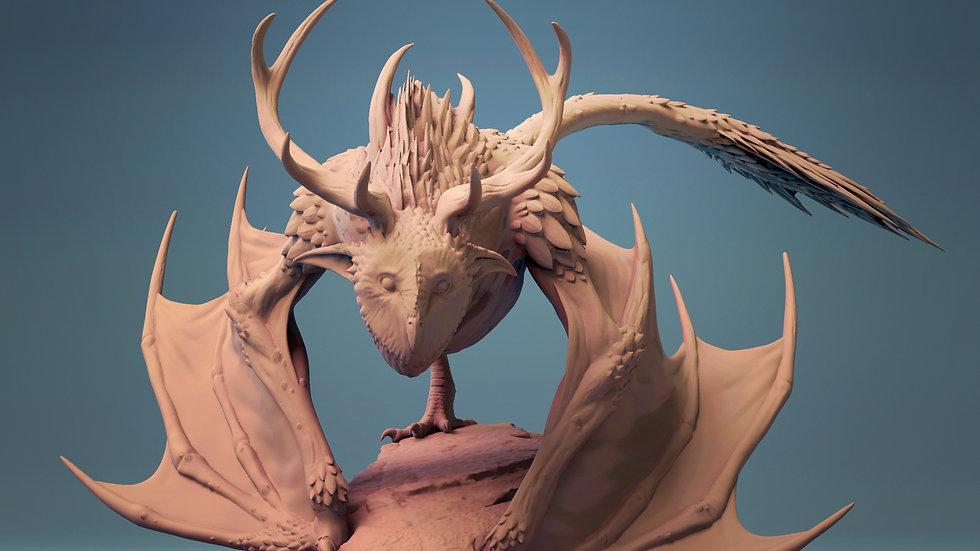 Kipine RPG monster dragon owl