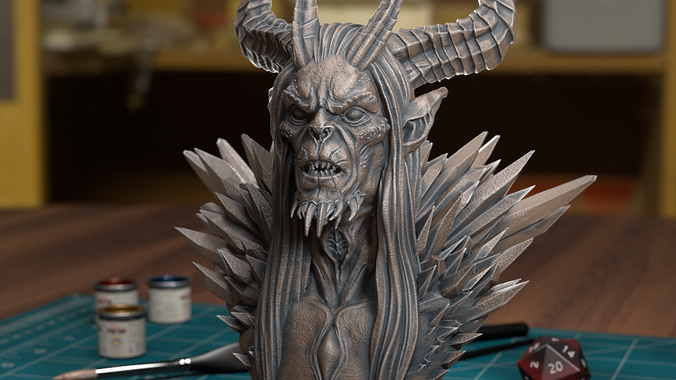 high detail bust designed by TytanTroll 75mm scale