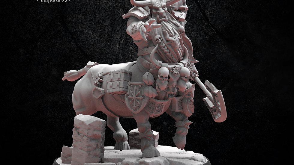 Bul-Thaurs Hero figure Bull Centaurs Infernal Dwarf Magmhorin Chaos Dwarves- 28M