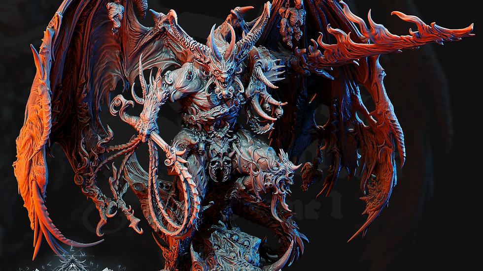 Greater Daemon of Khorne proxy Bloodthirster