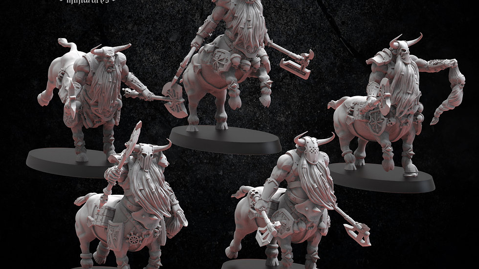 Bul-Thaurs Bull Centaurs Infernal Dwarf Magmhorin Chaos Dwarves- 28M