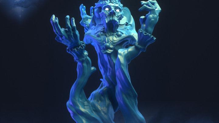 D&D Monster Djinn of Souls Voidrealm Minis