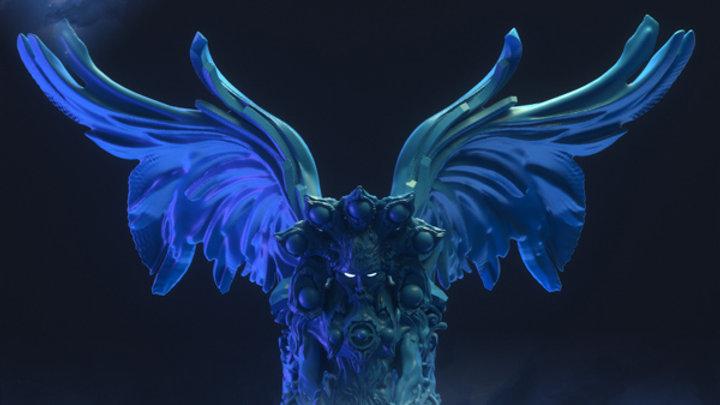 D&D Monster Celestial Sphinx Voidrealms Minis
