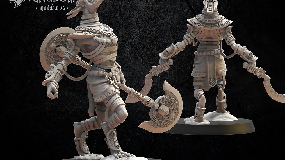 Ushebti of Undying Dynasties- Resin Miniature - 28mm scale