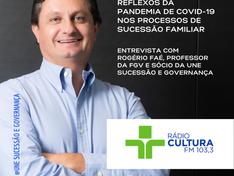 Entrevista à Radio Cultura