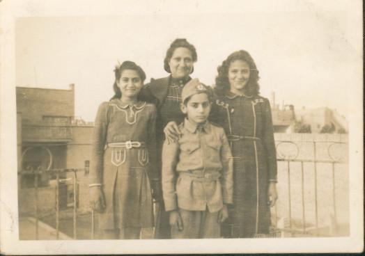 My family in Baghdad, Iraq
