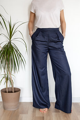 Pantalon Somptueux marine