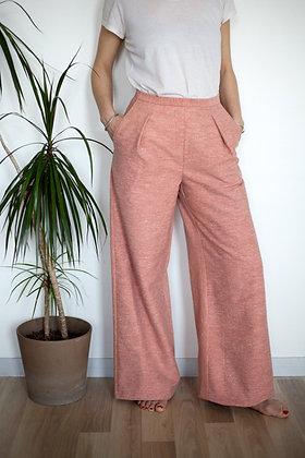 Pantalon Somptueux rose